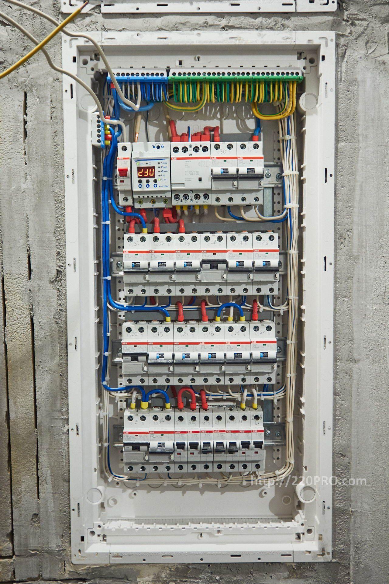 Электромонтажные работы в ЖК Лайнер