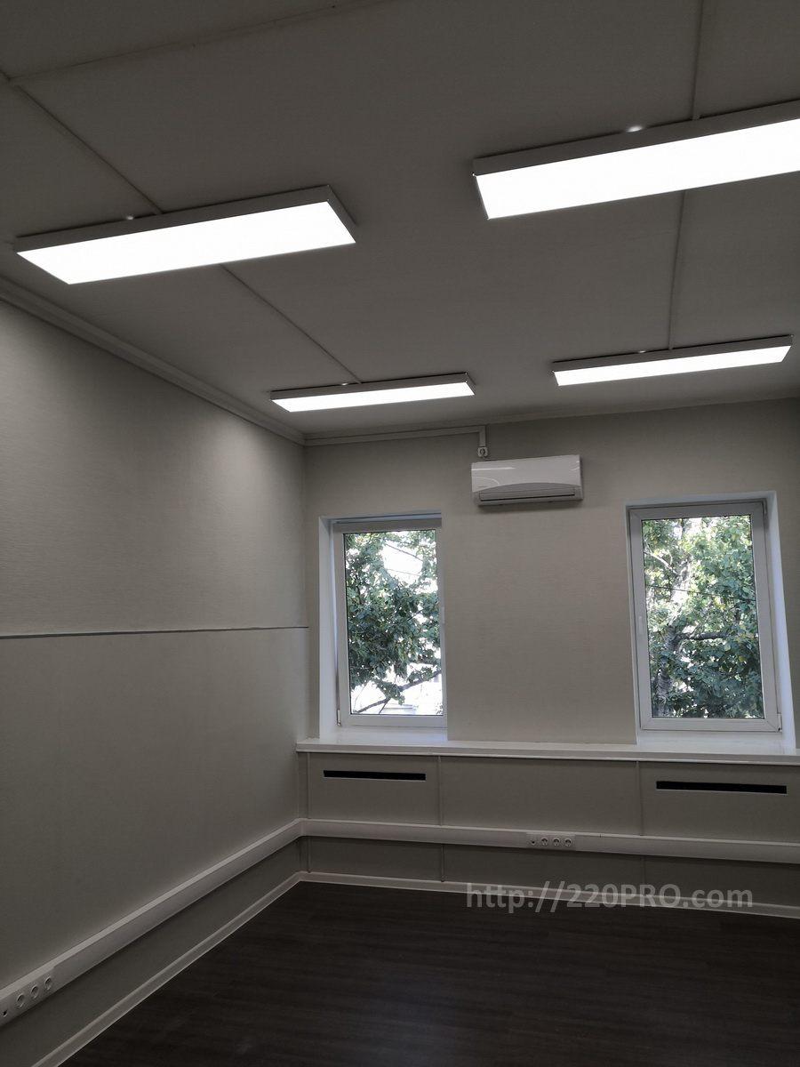 Электромонтаж в офисном помещении